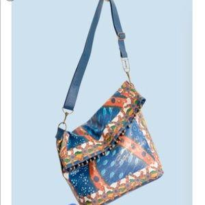 Desigual Cirque du Soleil Fold Over Shoulder Bag